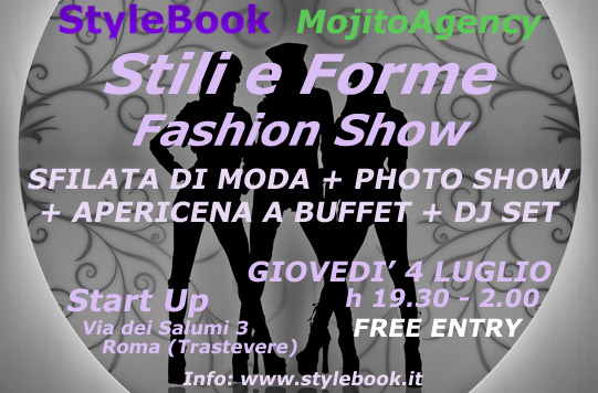 Stili e forme: fashion show