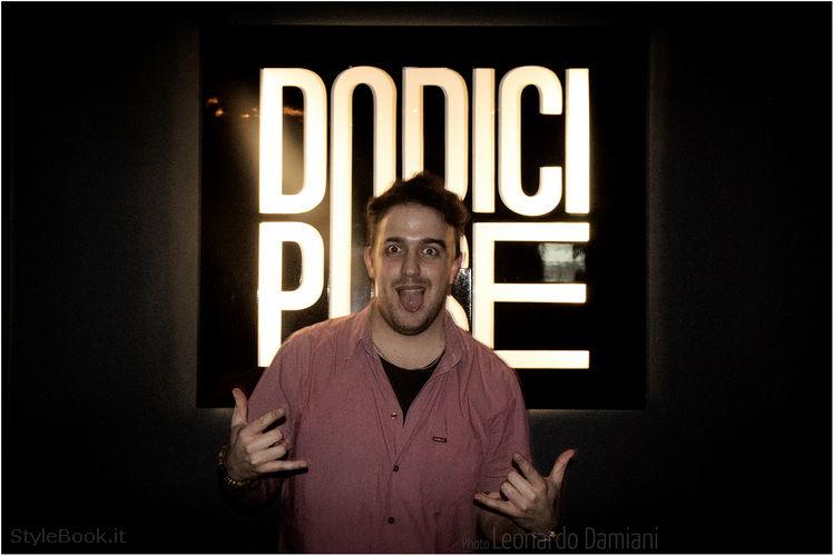 Il DJ Gabriel Giordano